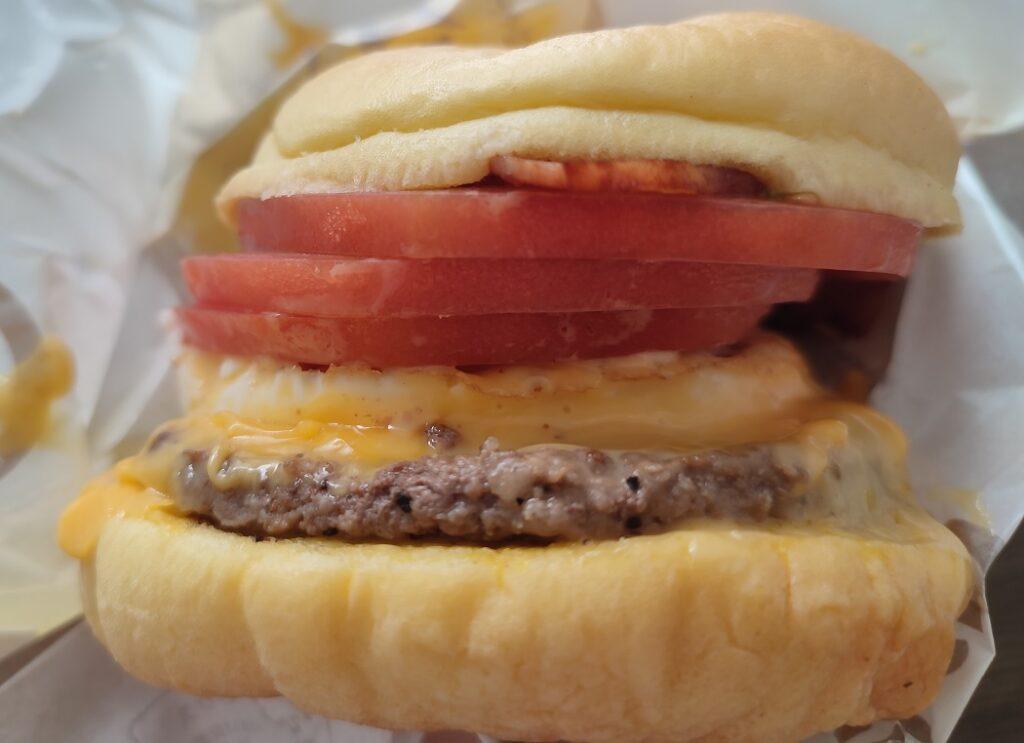 マクドナルド濃厚チーズバーガー